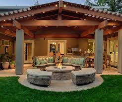 Outdoor Patio Fireplace Designs Fascinating Backyard Patio Ideas Home Decorating Ideas Also Tips
