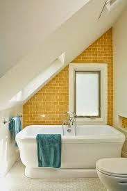 blue and yellow bathroom ideas bathroom white yellow attic bathroom with yellow ceramic subway