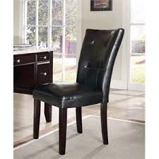 Leather Parsons Chairs Parson Chair Dining Chairs Cymax Stores