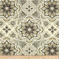 waverly tapestry tile shale from fabricdotcom screen printed on