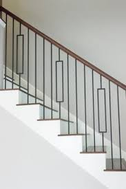 Stair Banister Custom Fabricated Metal Balusters Handrail Stair Banister