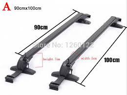 Car Top Carrier Cross Bars Car Roof Rack Car Top Racks Cross Bar No Drilling Required Quality
