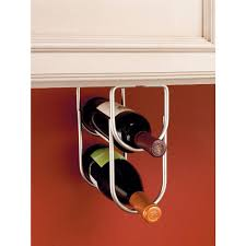 How To Build A Wine Rack In A Kitchen Cabinet Rev A Shelf 0 625 In H X 4 25 In W X 9 In D Chrome Under