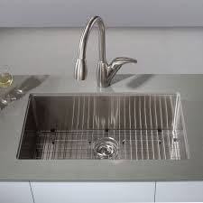 Kitchen Sinks Stainless Steel Kraus Khu100 30 Kitchen Sink Build Com