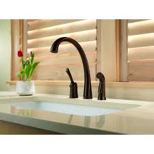 pilar 4380t single handle kitchen faucet with touch 20 technology