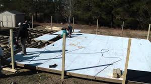 Build A Backyard Ice Rink Synthetic Ice Rink Build Mp4 Youtube