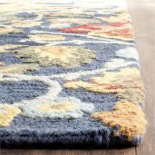 Safavieh Blossom Rug Safavieh Blossom 8 X 10 Hooked Wool Rug In Navy Blm402a 8
