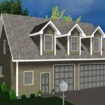 garage apartment kits architecture plans 74322