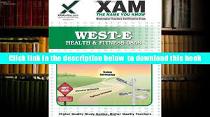 audiobook west e health fitness 0856 teacher certification test