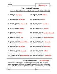 place value worksheets by david filipek teachers pay teachers