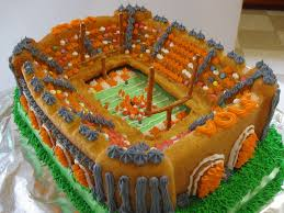 Neyland Stadium Map Neyland Stadium Cake I Made This For My Dad U0027s 66th Birthda U2026 Flickr