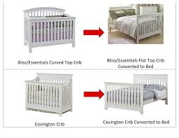 cribs that convert to twin beds amazon com baby cache crib full size conversion kit bed rails