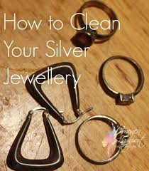 to clean silver jewellery in 3 easy steps