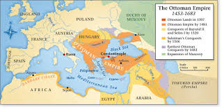 The Ottoman Turks Ottoman Empire Map Timeline Greatest Extent Facts Serhat Engul