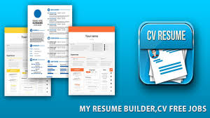 Free Resume Creator Software by Cv Resume Professional Resume Builder Cv Maker Free 2017