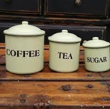enamel kitchen canisters vintage enamel canisters enamel kitchen canister set coffee tea