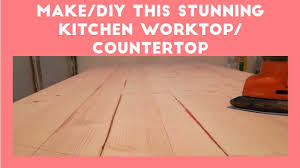 diy how to make stunning simple kitchen countertop worktop a z diy how to make stunning simple kitchen countertop worktop a z
