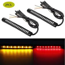 Saber Led Light Bar by 17 2835 Smd Motorcycle Turn Signals Led Light Flexible Strip Slim