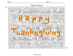 printable mazes for thanksgiving u2013 happy thanksgiving