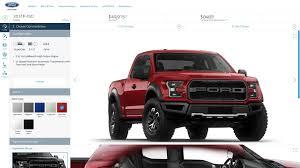 Ford Raptor Red - 2017 ford f 150 raptor configurator fires up front torsen diff