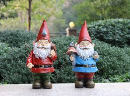 handmade vintage free resin garden figurines gnomes for sale poly