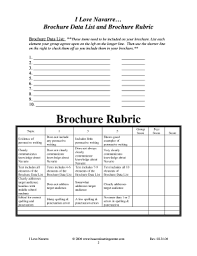 brochure rubric template brochure size in photoshop edit fill out print