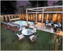backyards modern stylish patio with small pool ideas 40 backyard