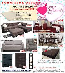 furniture outlet ads