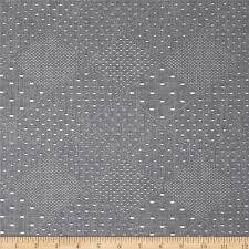 kaufman chambray jacquard diamond plaid indigo from fabricdotcom