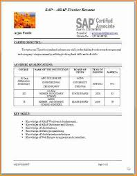 Teaching Resumes Samples by 7 Fresher Teacher Resume Sample Invoice Template Download