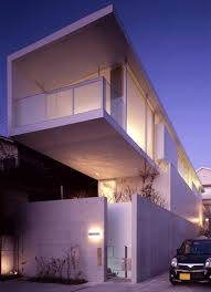 Japanese Home Cubes  Neat Modern Box House Designs - Modern japanese home design