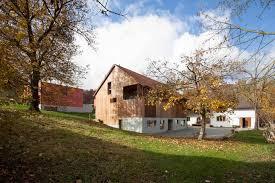 architektur lã beck barn conversion in hofstetten flüh switzerland by beck oser
