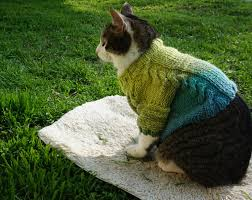 sweaters for cats cat sweater green blue cat clothes pet knitted top
