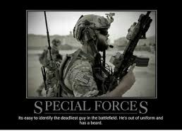 Special Forces Meme - special forces its easy to identify the deadliest guy in the