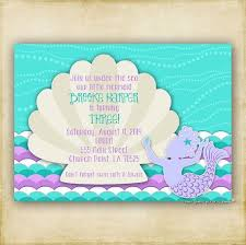 mermaid baby shower invitations pin by marcos andressa on do it yourself mermaid baby