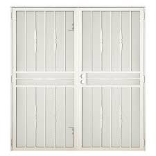 30 Inch Exterior Door by Unique Home Designs 72 In X 80 In Arcadamax Black Surface Mount