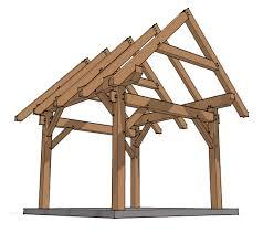 12x12 timber frame plan timber frame hq