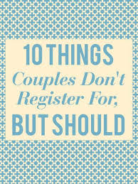 top wedding registry top items to put on wedding registry wedding idea