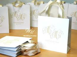 wedding gift bags for guests unique wedding favor bags like this item ideas for wedding gift