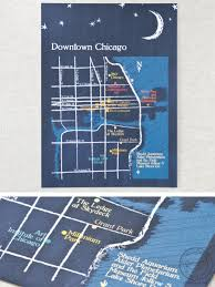 Map Of Chicago Hotels by Why You Need A Custom Map For Your Wedding Charmcat