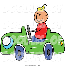 car toy clipart boy driving car clipart 20