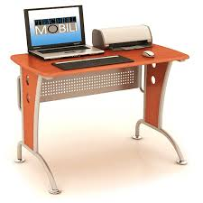 wood metal desk techni mobili rta 3520 computer desk with storage walmart com