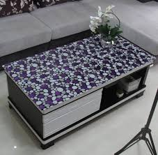 black display table cloth custom made pvc tablecloths soft transparent glass table cloth with