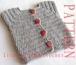 baby sweater vest crochet pattern baby sweater patterns
