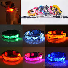 dog collar lights waterproof fancy pets dog led lights waterproof flash night safety collar