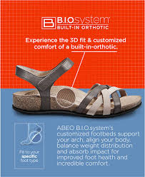 Comfort Sandals For Ladies Abeo Footwear Shop Biomechanical Sandals Shoes And Orthotics