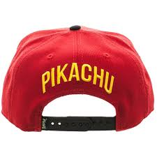 American Flag Snapback Hat Amazon Com Bioworld Pokemon Pikachu Color Block Snapback Hat