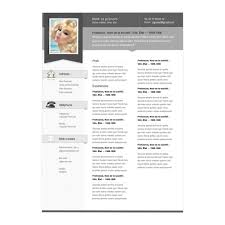 Html5 Resume Resume Format One Page Staff Accountant Resume Example