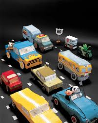 papier mache vehicles martha stewart