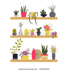 Clipart Vase Of Flowers Hand Drawn Illustration Flowers Plants Vases Stock Illustration